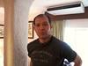 Wayne begining to speak in the lodge room at Villas Arqueológicas-Uxmal [photo credit: Ian]