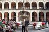 Ian and Wayne at the fountain in the central coutryard of el Palacio Nacional