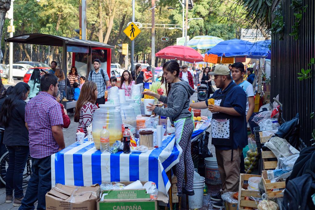 Bosque Chapultepec Vendors