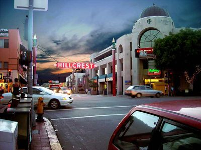Hillcrest district of San Diego, California