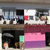 A sunny street in Ixtaba, Mexico