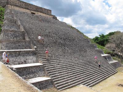 The Great Pyramid at Uxmal