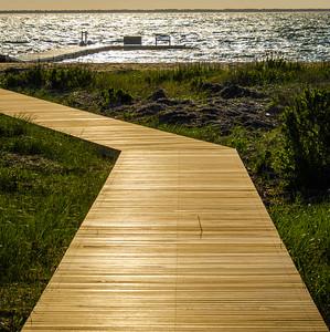Boardwalk at the Wauwinett