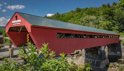 Taftsville Bridge Restored after Hurricane Irene