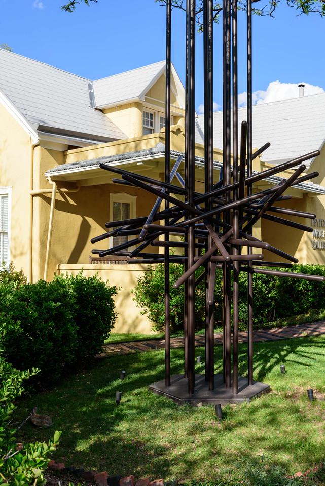 Sculpture Outside a Gallery in Santa Fe