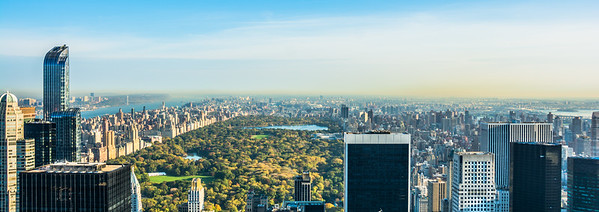Central Park from the Top of the Rock