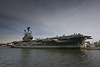 The former USS Intrepid