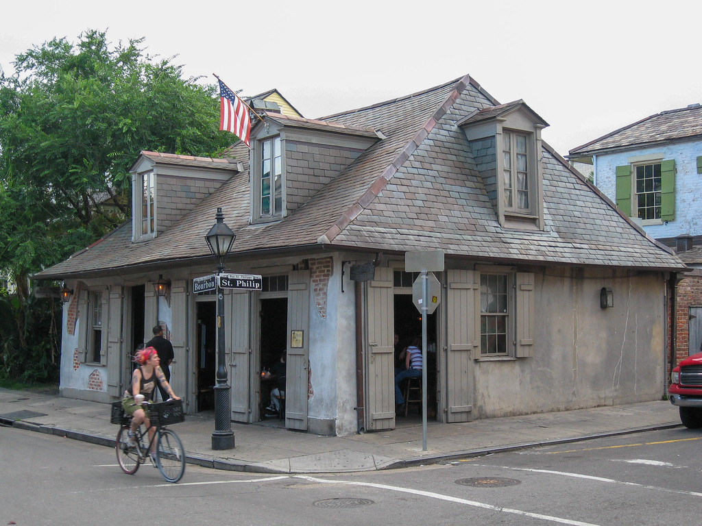 Lafitte's Tavern, the oldest bar in New Orleans, and possibly the United States