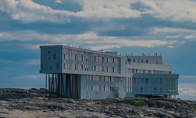 Fogo Island Inn from the Sea