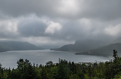 Clouds and Fog - South Arm of Bonne Bay