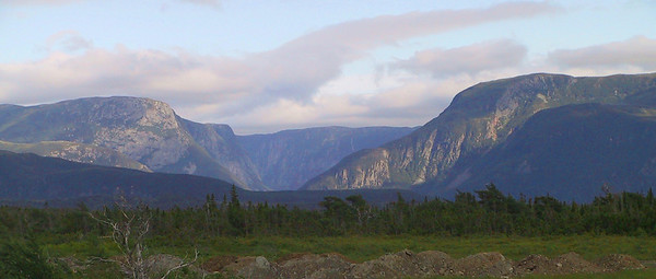 Newfoundland landscape courtesy of Bob Speare