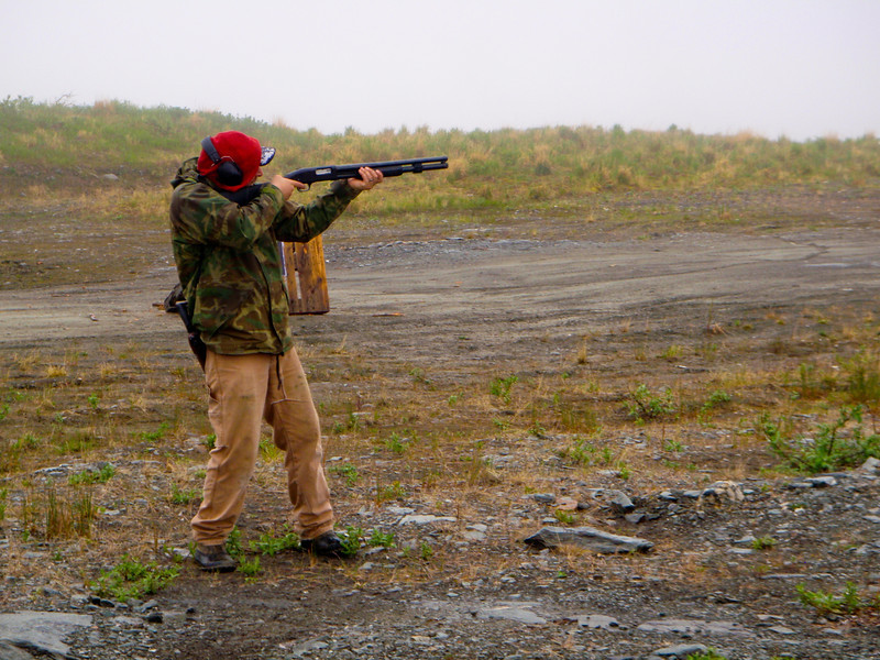 Spending the afternoon shooting outside of Nome