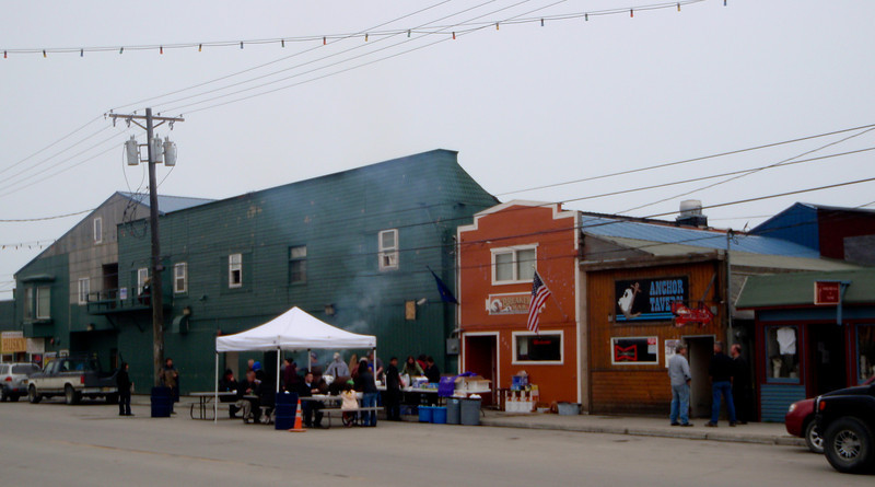 BBQ on Front Street