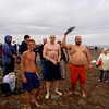 Getting ready to take a plunge into the Bering Sea!