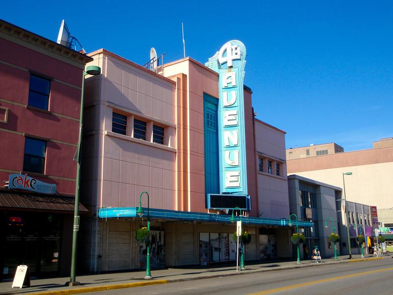 4th Avenue in Anchorage