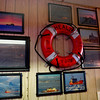 Display inside Breakers Bar commemorating Nome's first winter fuel delivery through the sea ice thanks to the USCG Icebreaker Healy and fuel tanker Renda!