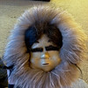 Sooo cool. A woman from Barrow on my flight from Nome gave me this handmade mask!!