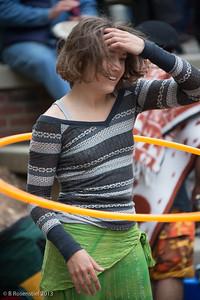 Friday Night Drum Circle, Asheville, NC, 2013