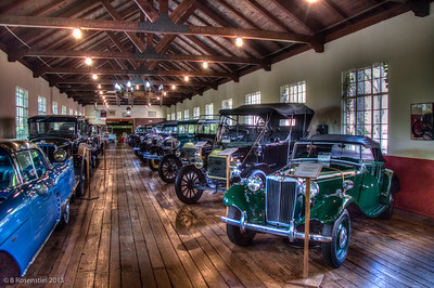 Antique Car Museum, Grovewood, Asheville, NC, 2013
