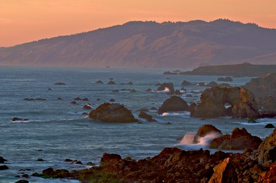 Sunset on the Sonoma Coast