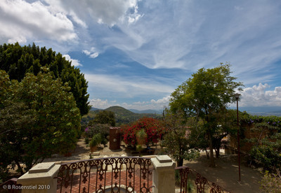 View from the Balcony San Augustin Etla, Oaxaca, MX, 2010