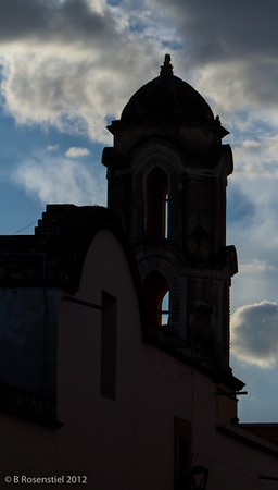 Silhouette Oaxaca, Mexico, 2012