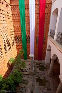 Textile Museum Courtyard, Oaxaca, MX, 2010