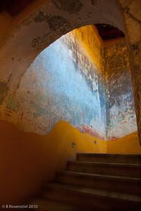 Stairwell Courtyard, Oaxaca, MX, 2010