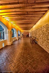 Upstairs Corridor Oaxaca, Mexico, 2012