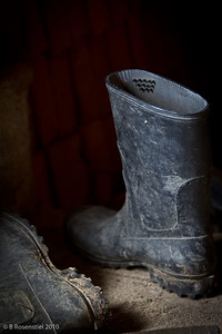 Boots Still Life, Teotitlan, MX, 2010