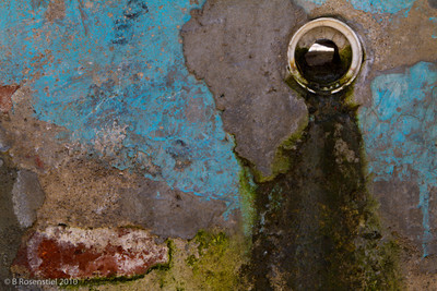 Blue Wall Still Life, Teotitlan, MX, 2010
