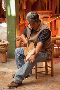 Weaving, Teotitlan del Valle, Mexico, 2012
