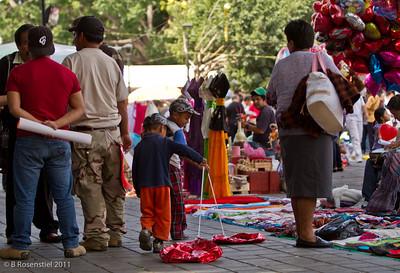Zocalo, Oaxaca, Mexico, 2012