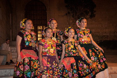 Folkloric Dancers, Oaxaca, Mexico, 2006
