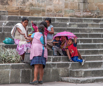 Steps of Santa Domingo, Oaxaca, Mexico, 2006