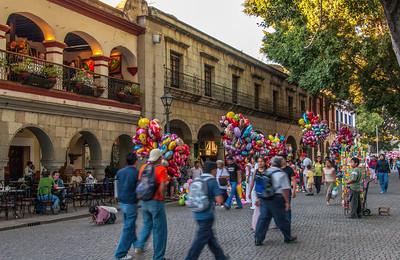 The Zocalo, Oaxaca, Mexico, 2005