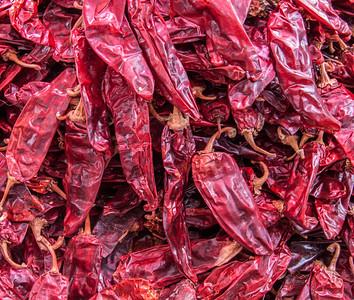 Chilies, Sunday Market, Tlacolula, Mexico, 2005