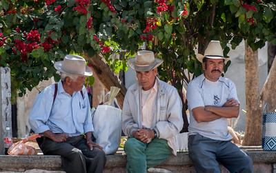Hats, Sunday Market, Tlacolula, Mexico, 2005