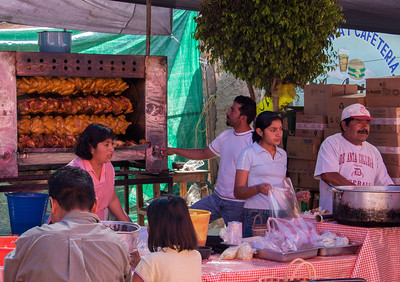 Roasted Chicken, Sunday Market, Tlacolula, Mexico, 2005
