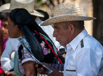 The Reader, Sunday Market, Tlacolula, Mexico, 2005