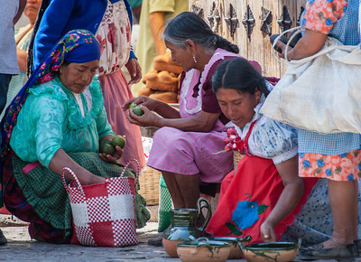 Avocado Seller, Sunday Market, Tlacolula, Mexico, 2005