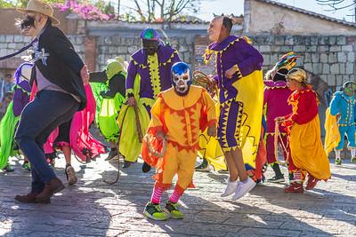 Carnaval Parade, Oaxaca, Mexico, 2020