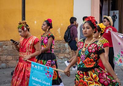 Parade of Lengua Madre, Oaxaca, Mexico, 2020