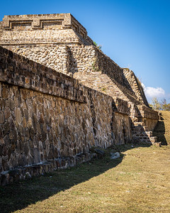 Monte Alban, Oaxaca, Mexico, 2020