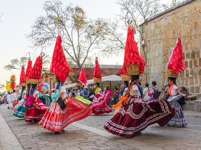 Parade Honoring Mothers, Oaxaca, Mexico, 2020