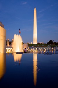 Washington Monument from the World War II Memorial