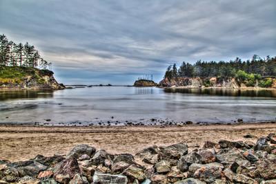 Sunset Beach,Cape Arago, Oregon, May, 2012