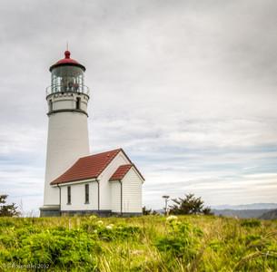 Cape Blanco Lighthouse, Oregon, May, 2012