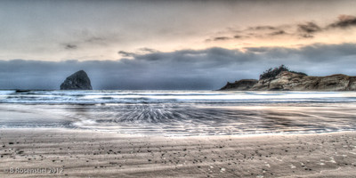 Cape Kiwanda Sunset, Oregon, May, 2012