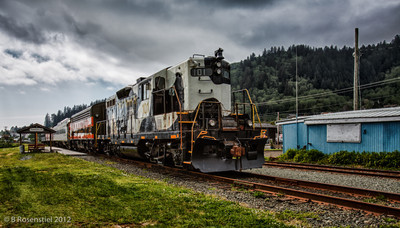 Garibaldi Rail Stop, Oregon, May, 2012